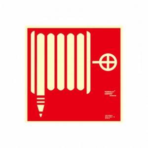 señal boca de incendio bie