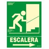 señal evacuacion clase b