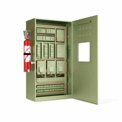 Caja Decorativa Para Tapar Plomos