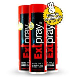 promocion mejor precio extintor espuma