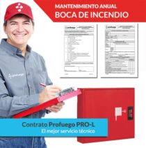 mantenimiento anual bie boca de incendio pro l