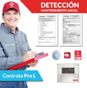 mantenimiento anual deteccion de incendios