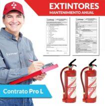 mantenimiento anual extintores