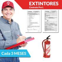 mantenimiento trimestral extintores pro l