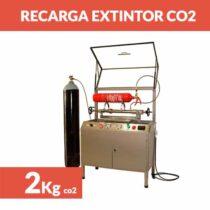 recargar extintor co2 2kg