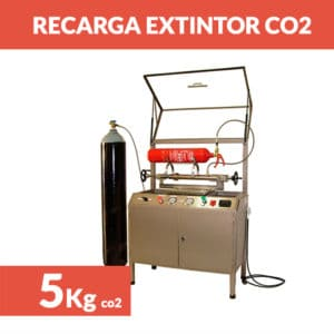 recargar extintor co2 5kg
